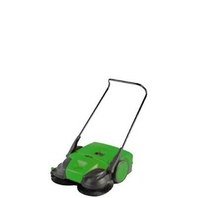"Bissell BG677 31"" Battery Powered Triple Brush Push Power Sweeper, 13.2 Gal."