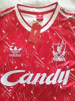 Liverpool 1989-90 Home Football Shirt, New With Tags, Size Large, No 7, Dalglish