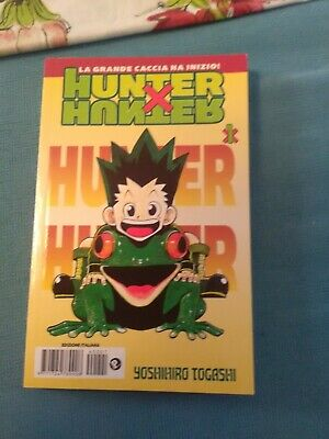 Fumetto Planet Manga Yoshihiro Togashi Hunter X Hunter Vol. 1 Nuovo