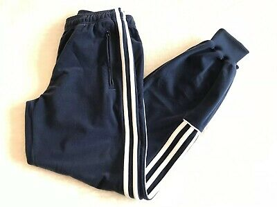 Boys Adidas Blue Tracksuit Bottoms Age 11/12 Years