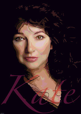 Kate Bush A3 Size Art Poster Print Limited Edition