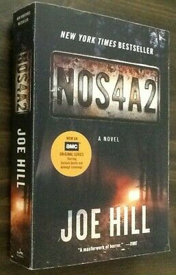 NOS4A2 by Joe Hill-Novel (AMC Series Used in Good Condition 2013