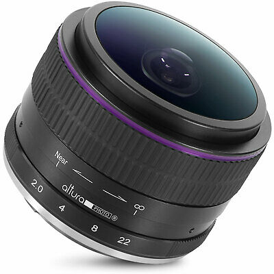 Sony E Mount Lens 6.5mm f/2.0 Wide Angle Circular Fisheye for Sony Cameras
