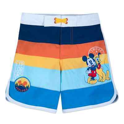 63c73f4f9f MICKEY MOUSE SWIMMING Trunks - Toddler Boys Size 3T - Swimwear ...