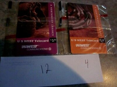 A Northwest Legacy, U.S. West Chip Lot of 16 cards in original cello wrap