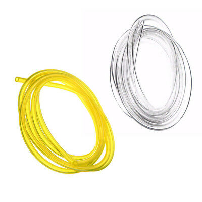 1/8''x1/4'' Gas Fuel Diesel Oil Line Universal Latex Pipe Hose 2M High Flexible