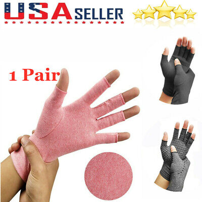 Pain Relief Arthritis Glove Compression Support Hand Wrist Brace Carpal Tunnel
