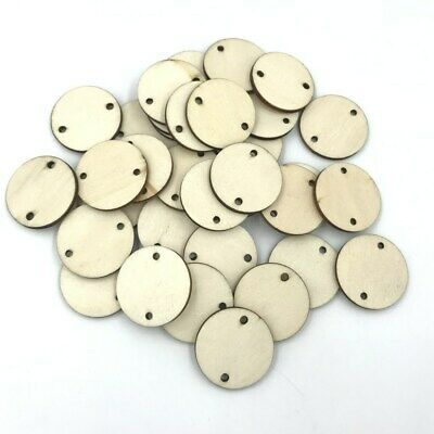 DIY Wooden Round Home Decoration Hanging Ornament Accessory Painting 30mm