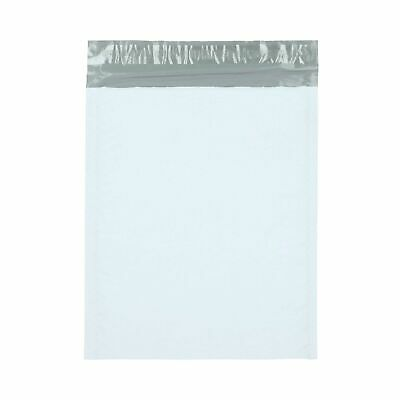 "3600 Pieces White/Grey 9.5"" x 14.5"" (#4) Poly Bubble Mailer Padded Shipping Bags"