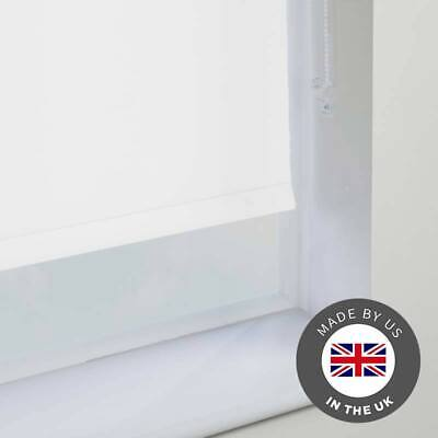 Blackout Roller Blind Ready Made Blinds Up to 300cm x 180cm - 100% Thermal