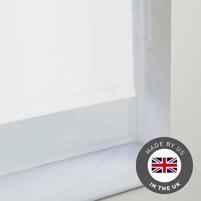Blackout Roller Blinds Ready Made Blinds Up to 300cm x 180cm - 100% Thermal