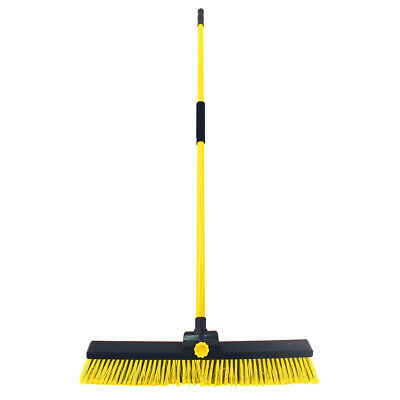 Charles Bentley niveladora Yard Broom Barredora Industrial Pesado con la manija