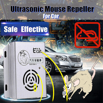 Car Rat Repeller Ultrasonic Rodent Repellent for Vehicle Automobile Chases Rat