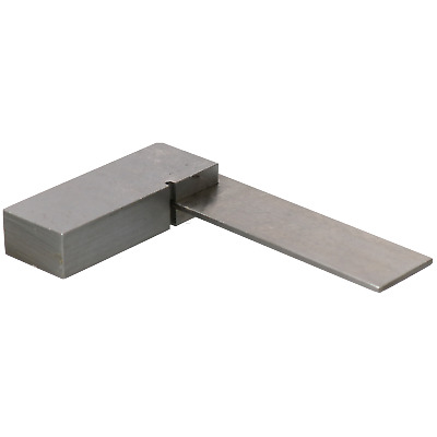 """2"""" Engineers Square Precision 90° Angle Set Square Polished Steel Machinist"""