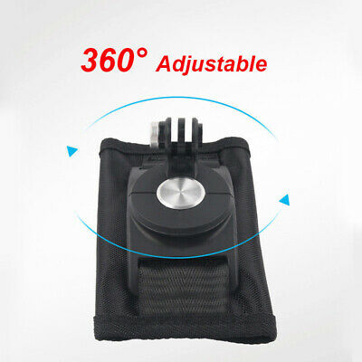 1pc Riding Backpack Mount Bracket Holder For GoPro Hero 4 5 6 Camera Piece New