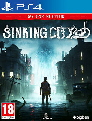 The Sinking City (PS4) BRAND NEW AND SEALED - IN STOCK - QUICK DISPATCH