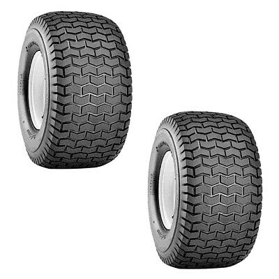 Carlisle Tires 15x6.00-6 Turf Chevon Tread 2 Ply Husqvarna 532122073 2PACK