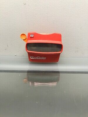 Original View Master 3D Viewer  Red Classic Toy With Snow White Reel A8