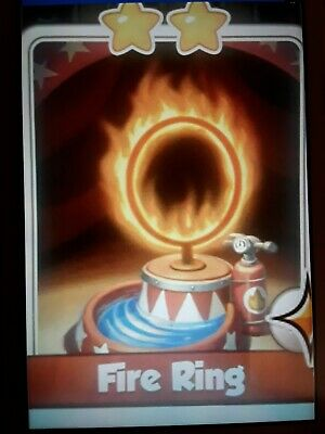 Coin Master Fire Ring From Circus Set UK Seller