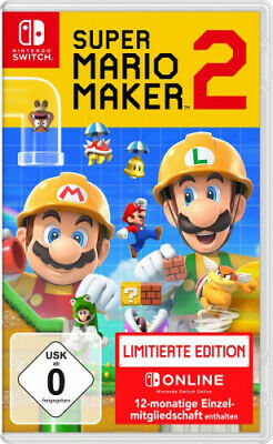 Super Mario Maker 2 Limited Edition (Nintendo Switch) (Software) NEU