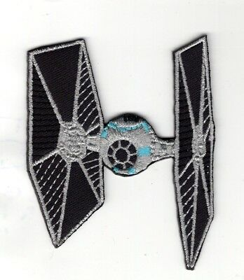 Star Wars Tie Fighter ship vehicle patch 3 1/2 inch patch