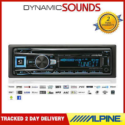 Alpine CDE-193BT CD USB Récepteur MP3 Voiture Bluetooth Stéréo Ipod IPHONE