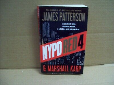 NYPD Red 4 by James Patterson (2016 Paperback)