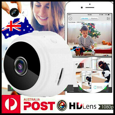 Mini Spy IP Camera Wireless WiFi HD 1080P Hidden Home Security Night Vision A9