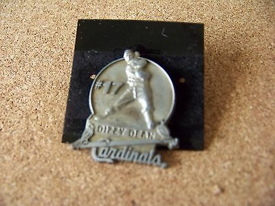 #17 Dizzy Dean St. Louis Cardinals lapel pin back dated May 27, 2000