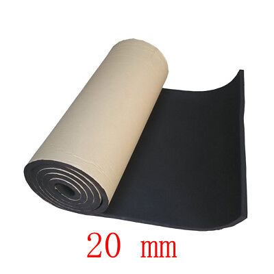 2Roll 20mm Car Sound Proofing Deadening Insulation Closed Cell Foam Noise JQ