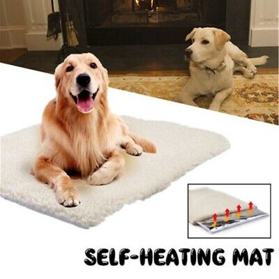 Large Washable Warm Dog Pet Mat Bed Pad Self Heating Cat Puppy Blanket Cushion