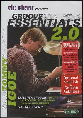Tommy Igoe Groove Essentials 2.0 Drum Tuition DVD Learn How to Play Drumset