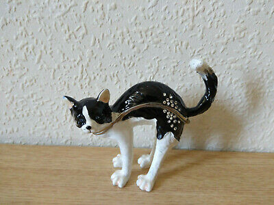 Juliana Treasured Trinkets Black & White Cat