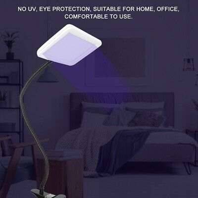 LED SAD Light 35000 LUX Therapy Light Affective Disorder Sun Table Lamp 10 Modes