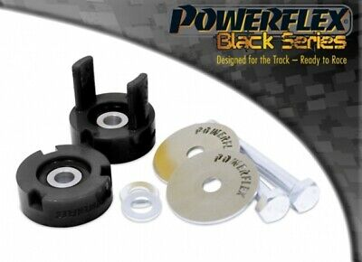 Powerflex Black Series Rear Diff Mount Rear Bush Inserts Ford Mustang 2015-