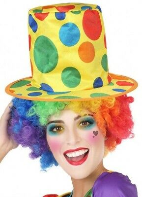 Black Twisted Attraction Monkey Circus Clown Top Hat Adult Costume Accessory