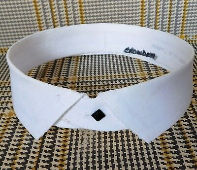 Vintage Onslow shirt collar size 18 detachable starched separate IMPERFECT