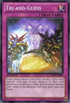 Yu-gi-oh PRIO Common Tri-And-Guess