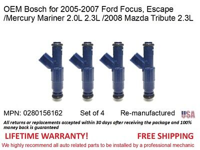 OEM Bosch Fuel Injector 0280156162  FORD ESCAPE FOCUS MERCURY MARINER 2.0L 2,3L