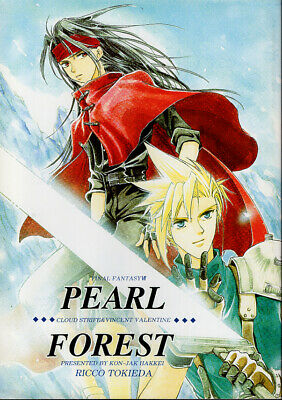 Final Fantasy 7 VII Doujinshi Comic Cloud x Vincent Valentine PEARL FOREST