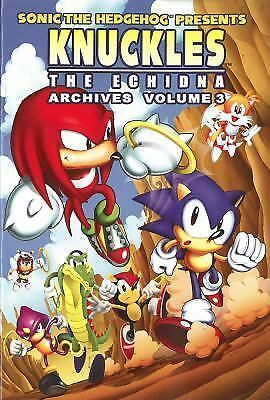 Sonic the Hedgehog Presents Knuckles the Echidna Archives, Vol. 3 (Knuckles Arch