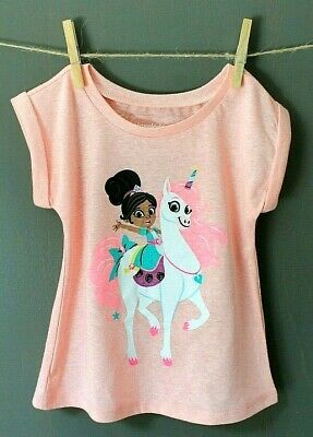 NELLA THE  PRINCESS KNIGHT T-SHIRT NICKELODEON BNWT ALL AGES