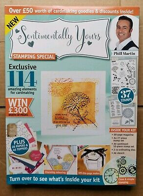 Inspired To Create - Sentimentally Yours - Stamping Special Rrp £12.99 Free Post
