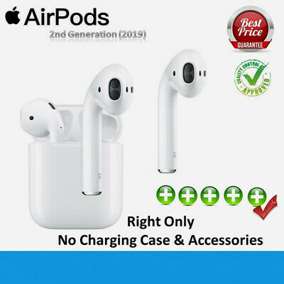 Apple AirPods 2nd Gen Right Only Replacement Bluetooth Wireless Headset White UK