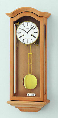 AMS 696/16 - Wall Clock - Alder - Pendulum Clock - Regulator Clock - New
