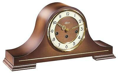 Hermle 21092-030340 - Table Clock - Walnut - Mechanical Clock - New