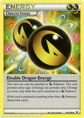 Double Dragon Energy 97/108 BKWK  Mint Pokemon Card