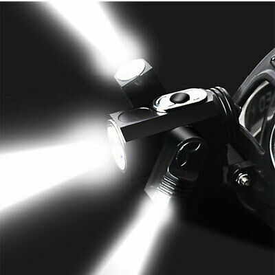 35000Lumen T6 LED Zoomable Headlamp USB Rechargeable 18650 Headlight Head Torch