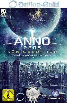ANNO 2205 - ULTIMATE EDITION - PC UPLAY Ubisoft Code - Königsedition NEU [DE/EU]
