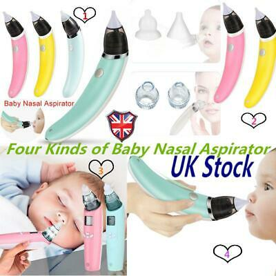 Baby Electric Nasal Aspirator Nose Snot Sucker Nostril Cleaner 0-6 Years Toddler
